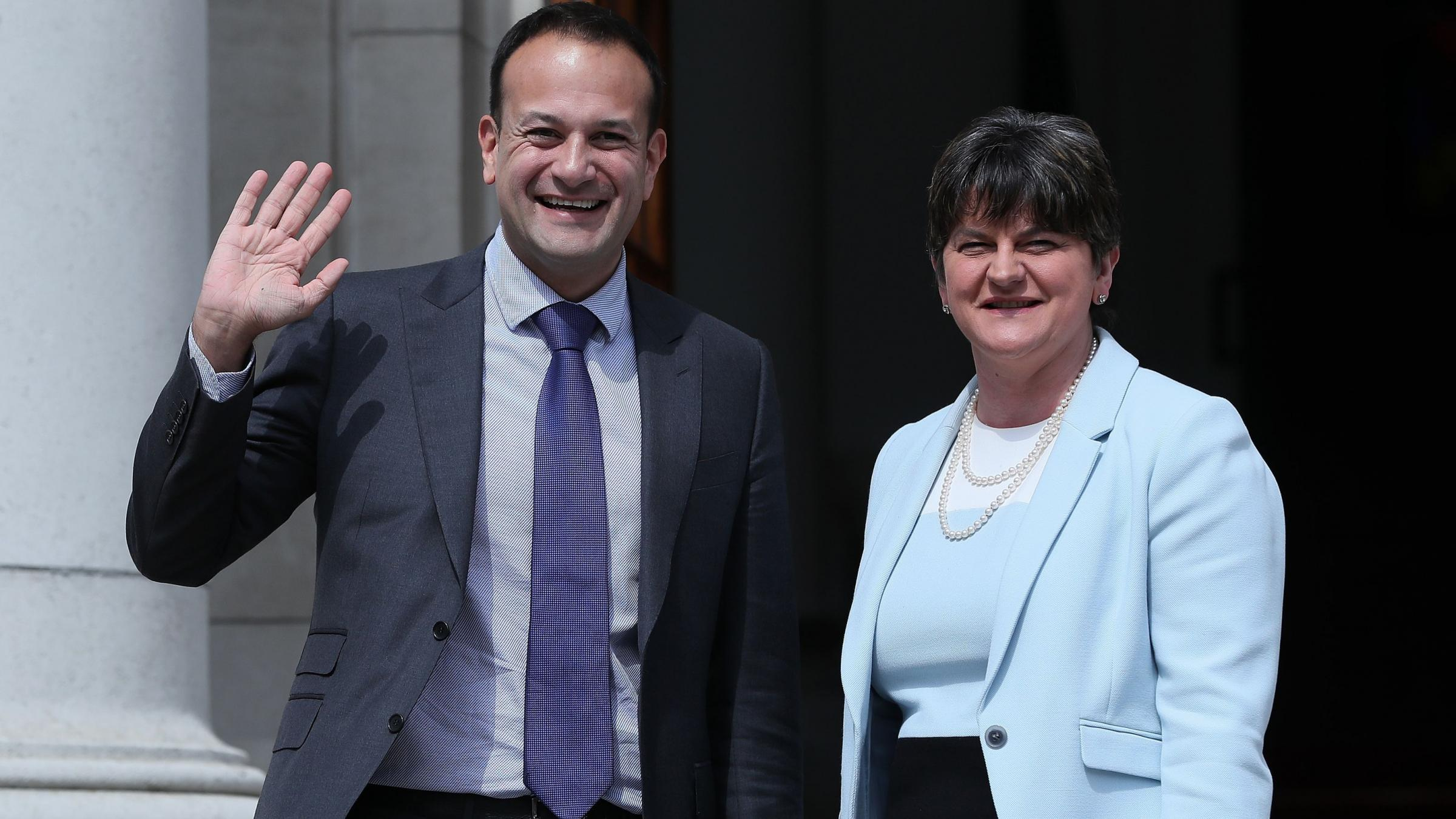 Irish PM holds separate talks with leaders of Northern Ireland parties