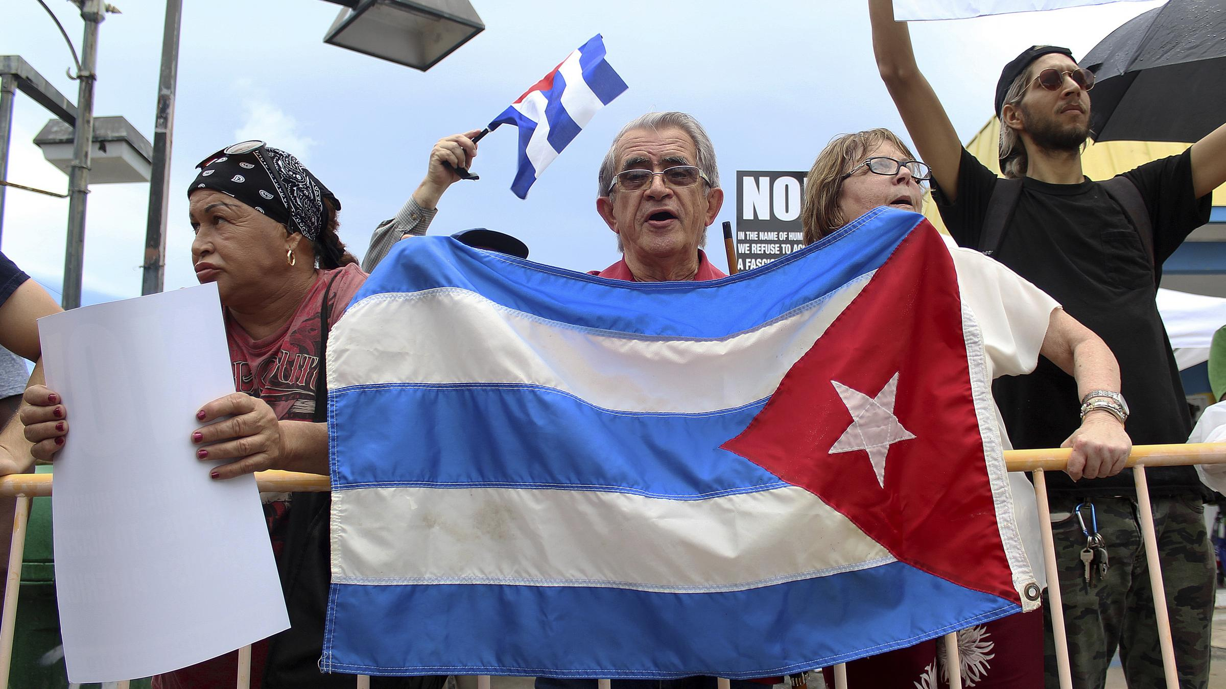 Russia says Trump is using 'Cold War rhetoric' on Cuba
