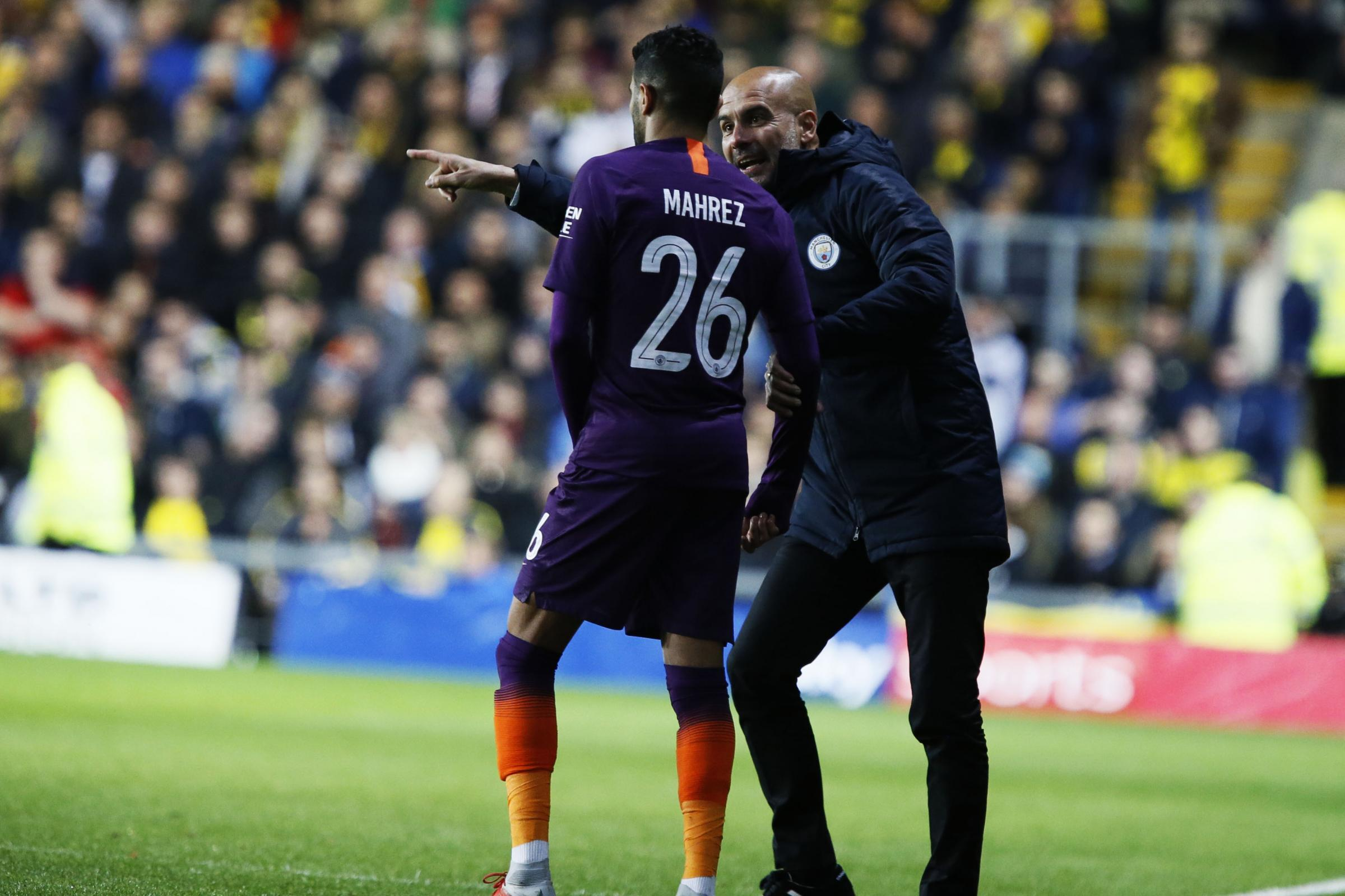 Oxford United v Manchester City: Danilo in line for City return